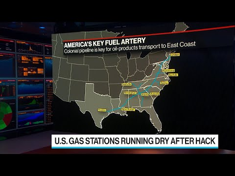 U.S. Gas Stations Begin to Run Dry After Colonial Pipeline Hack