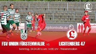video 'Oberligateam: 25. Spieltag gegen FSV Union Fürstenwalde – Spielszenen & Tore' anschauen