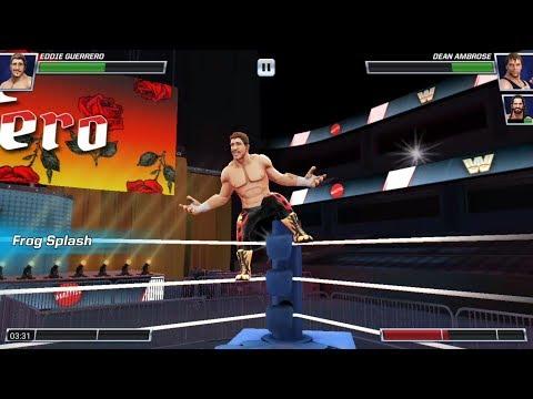 WWE Mayhem - Eddie Guerrero Gameplay