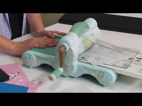 Crafts - Crafts Inspiration With The New Sizzix Big Shot http://www.sizzix.com/product/657900/sizzix-big-shot-machine-only-powder-blue-teal Get inspired to do craft p...