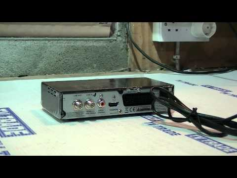 How to Install a Satellite Receiver (Single Tuner)