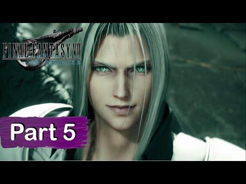 Final Fantasy 7 Remake All Cutscenes (Part 5/5) Game Movie