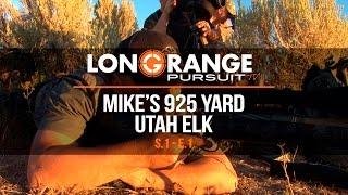 Video Long Range Pursuit | S1 E1 Mike's 925 Yard Utah Elk MP3, 3GP, MP4, WEBM, AVI, FLV September 2017