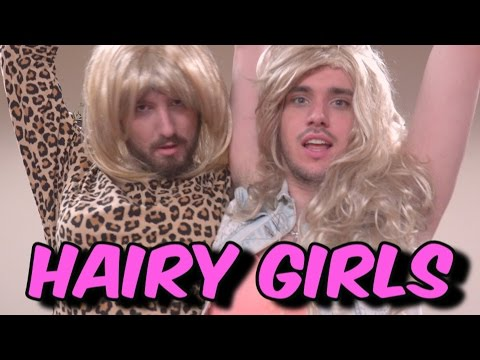 Hairy Girls | Pretty Girls Parody