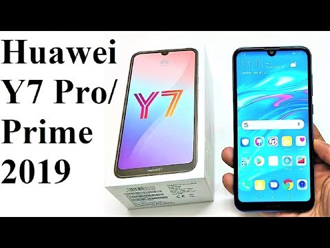 Huawei Y7 Prime 2019 / Y7 Pro 2019 - Unboxing and First Impressions