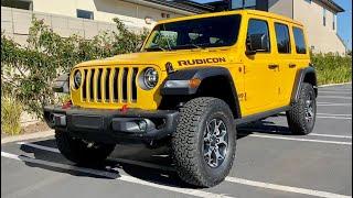 2020 Jeep Wrangler Rubicon EcoDiesel Walkaround + Exhaust by MilesPerHr