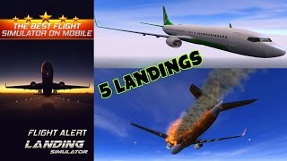 Flight Alert : Impossible Landings videosu
