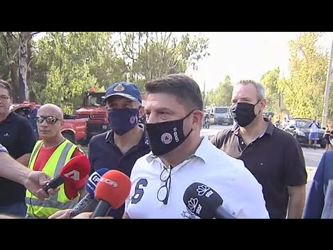 Αρχηγός Π.Σ. στο ΑΠΕ-ΜΠΕ: «Υπό μερικό έλεγχο η πυρκαγιά σε δασική έκταση στον Βύρωνα»