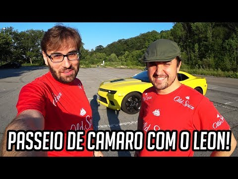 ASSUSTANDO O LEON NUM PASSEIO DE CAMARO!
