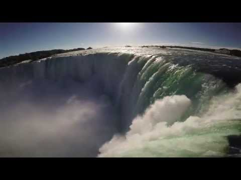 Download WATCH WHAT HAPPENS WHEN A DRONE FLIES OVER NIAGARA FALLS!! 60fps HD Mp4 3GP Video and MP3
