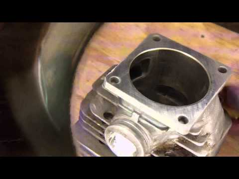 Stihl 044 How to rebuild install  new piston