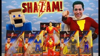 Nonton Shazam In Real Life Unboxing Movie Toys and Figures with Puppet Steve! Film Subtitle Indonesia Streaming Movie Download