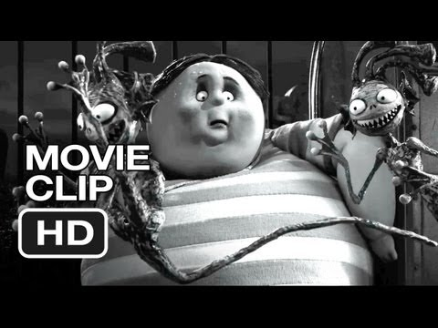 Frankenweenie Movie CLIP - Bigger Problem (2012) - Tim Burton Animated Movie HD