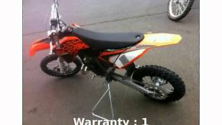 5. 2013 KTM SX 65 Review & Specs