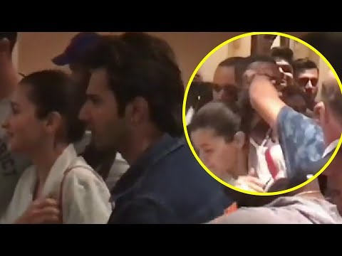Alia Bhatt CAUGHT In A Fight Between Her Bodyguard