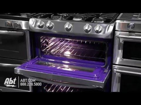 LG Stainless Steel Freestanding Double Gas Range LDG4315ST - Overview