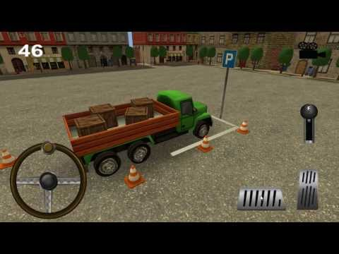 Video of Little Truck Parking 3D