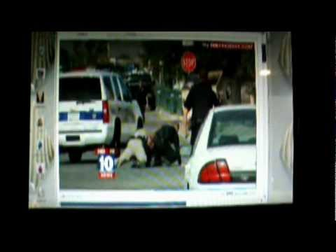 GOTCHA! Phoenix Police Body Slam Suspect Trying to Run from Cops Caught on Camera