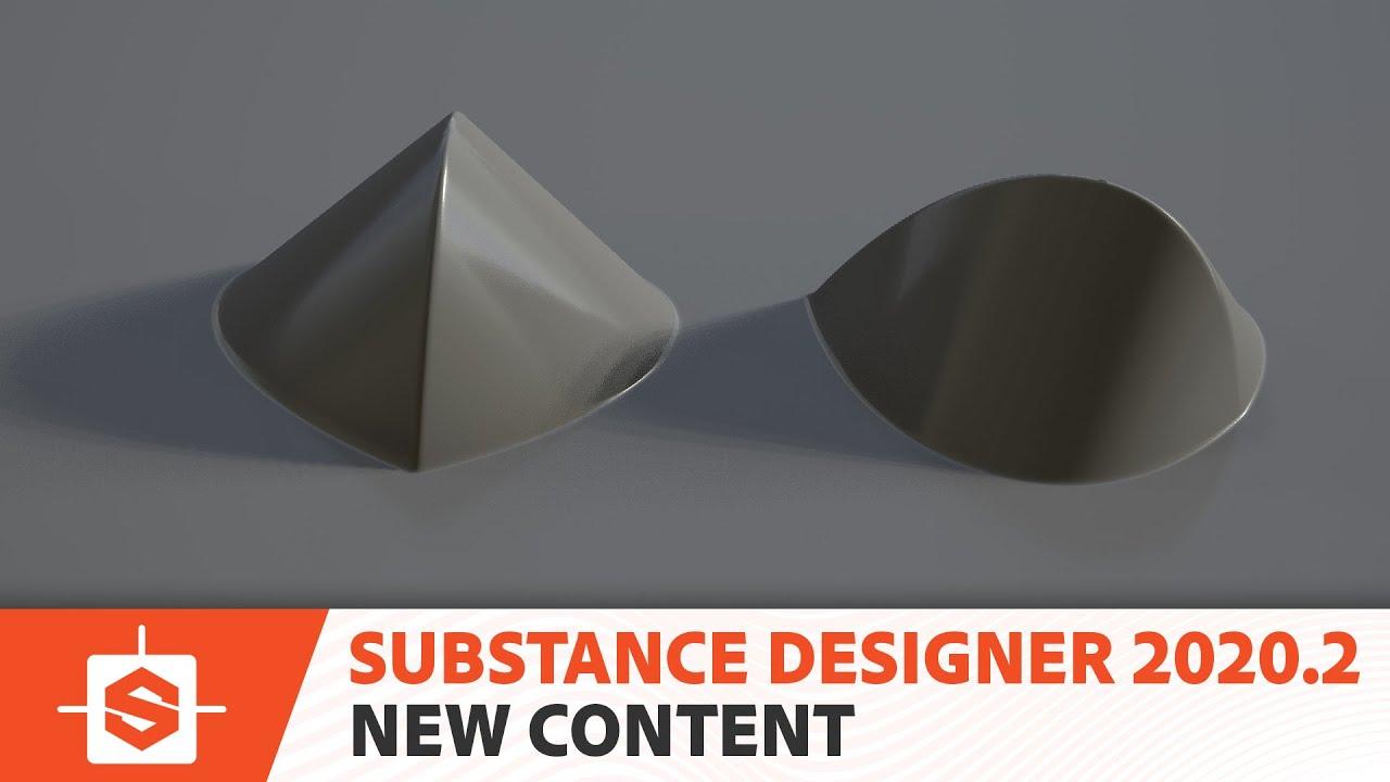 【Substance Designer】新バージョン 2020.2 がリリース | パフォーマンスの改善、新コンテンツの追加など