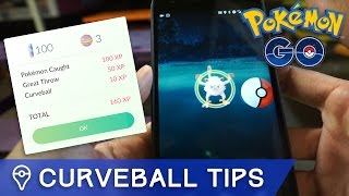 HOW TO THROW THE PERFECT CURVEBALL IN POKÉMON GO by Trainer Tips