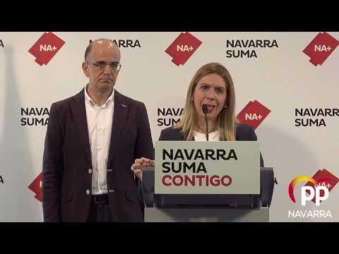 Amelia Salanueva: políticas sociales de Navarra Suma