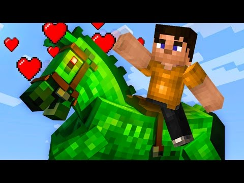 TAMING THE STRONGEST HORSE IN MINECRAFT! (Minecraft #9) (видео)