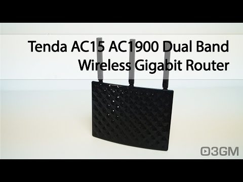 #1717 - Tenda AC15 AC1900 Dual Band Wireless Gigabit Router Video Review