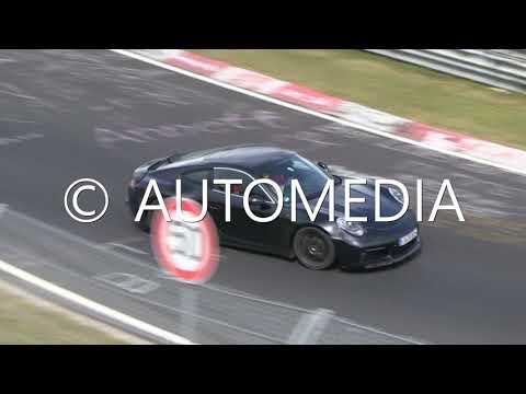 Yeni Porsche 911 Turbo modelini Nürburgring'de görüntüledik