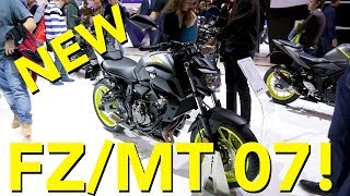 8. Updated 2018 Yamaha MT-07 First Look