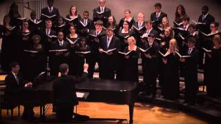 I Am Not Yours, David Childs - Murray State University Concert Choir