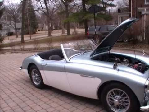 1957 Austin Healey 100/6 Convertible Review  Video