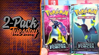 2PACK TUESDAY RETURNS! Opening EX Unseen Forces Pokemon Packs! by The Pokémon Evolutionaries