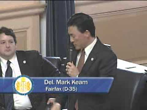 Del. Mark Keam speaks about Transportation Funding on January 16, 2013