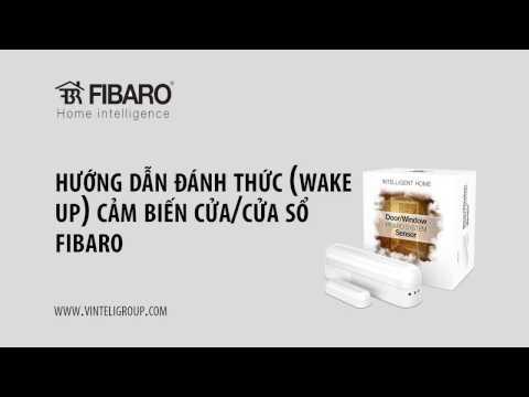 Hướng dẫn đánh thức cảm biến Cửa Fibaro