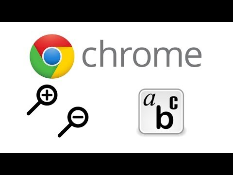 how to set zoom level in google chrome