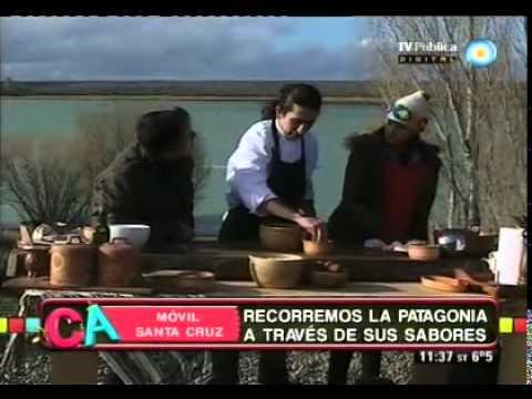 Cordero patag�nico con vinagreta de rosa mosqueta