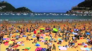 San Sebastian Spain  City new picture : At the Beach in San Sebastian Spain by Brewshow
