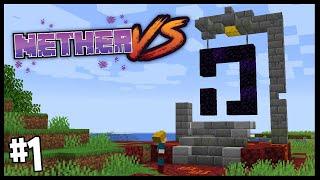 WORST START EVER!?   Nether Vs   Minecraft 1.16 Nether Challenge   #1