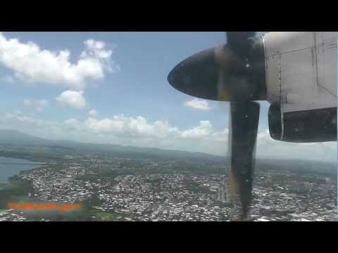 American Eagle Landing and Taxi Luis Munoz Marin Int (Puerto Rico)