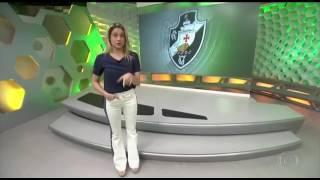 Esporte Espetacular--Nenê completa 100 jogos pelo Vasco hoje contra o Palmeiras (14/05)