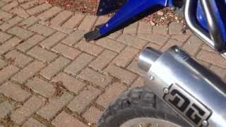 9. 2006 Suzuki DR200SE Stock VS. DG Slip On Exhaust