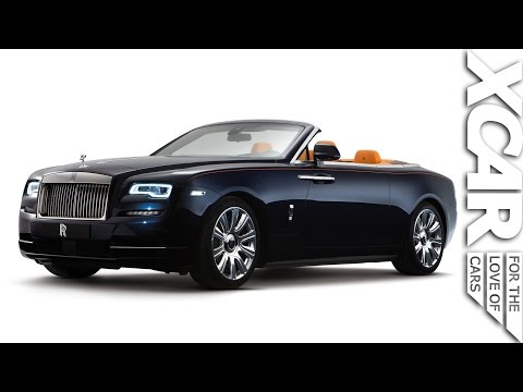 ROLLS-ROYCE DAWN: STEALTH LUXURY @XCARofficial @RollsRoyce