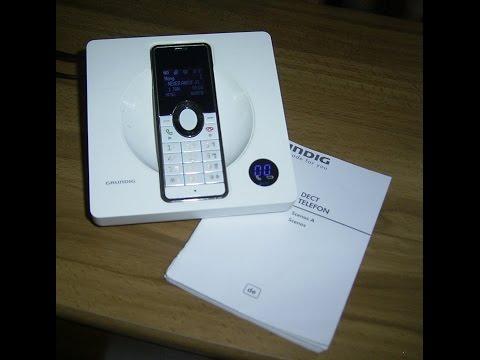 Grundig Scenos A Schnurlos-Telefon,cordless phone