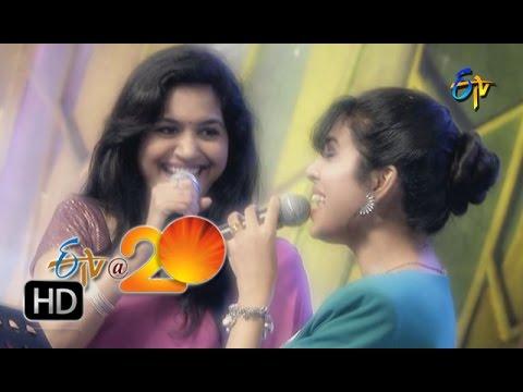 Sunitha-Sravana-Bhargavi-Performance-Yela-Yela-Song-in-Tirupathi-ETV-20-Celebrations