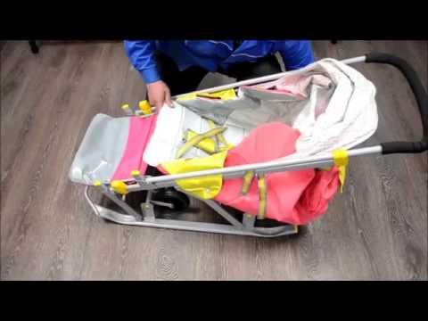 купить санки коляску ника 7 2 по оптовым ценам