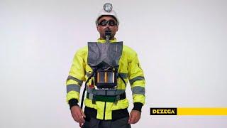 DEZEGA self-contained self-rescuer Ci-30 KS youtube video