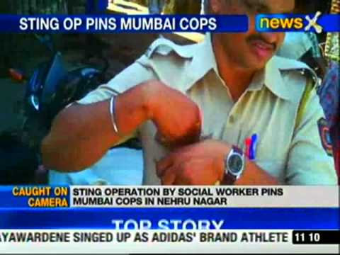 Mumbai cops caught on camera accepting bribe, suspended