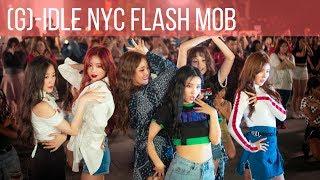 Video (G)I-DLE ((여자)아이들) - LATATA Live in New York City - Flash Mob MP3, 3GP, MP4, WEBM, AVI, FLV Desember 2018