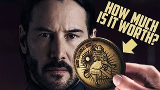 Video How Much is One John Wick GOLD COIN Worth? MP3, 3GP, MP4, WEBM, AVI, FLV Juni 2019