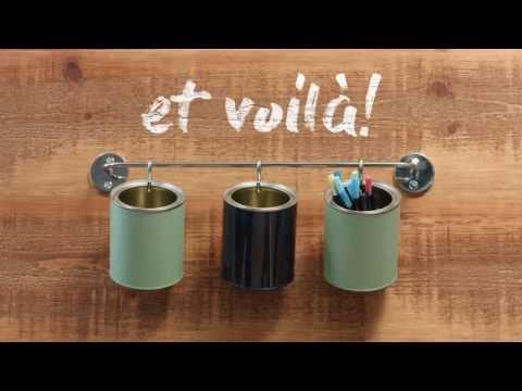 Trucs brico - Avec des contenants de peinture!